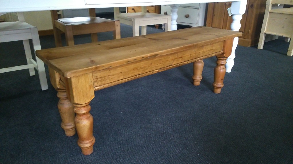 Benches & Stools 5ft Old Rustic Reclaimed Pine Bench To Fit Under Table Made Any Size The Latest Fashion